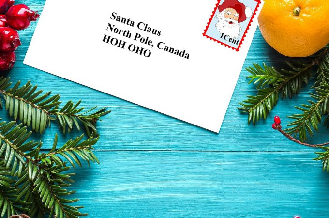 image of letter to santa