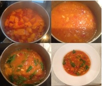 Chilli Spiced Squash Tomato Bean Soup