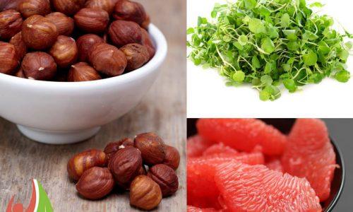 Hazelnut melon salad - Inga