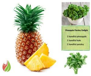Pinapple Parsley Delight