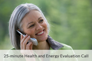 25 minute Health & Energy Evaluation