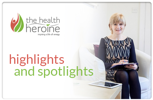 The Health Heroine Highlights and Spotlights Header Image