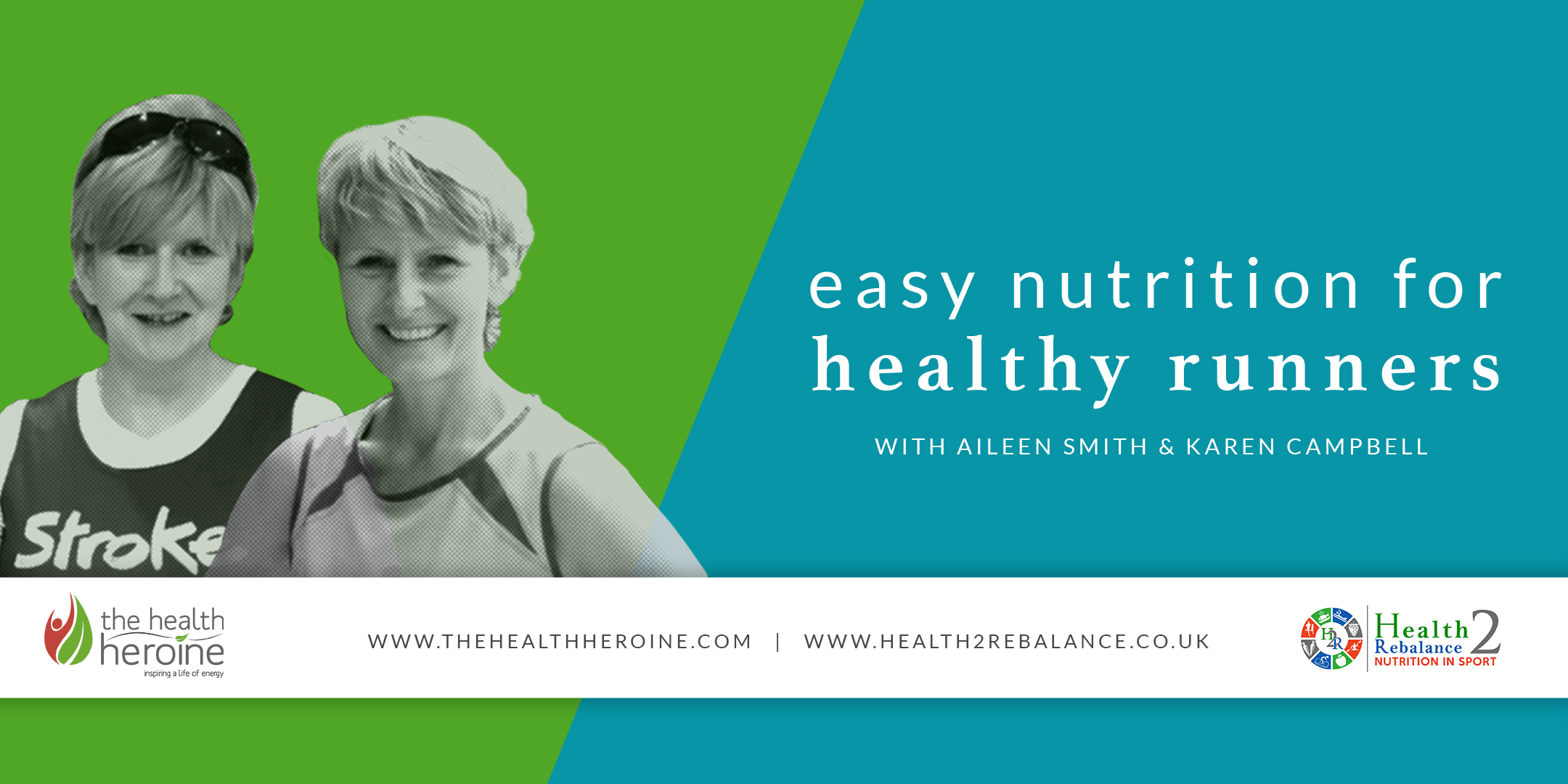 Easy Nutrition for Healthy Runners Facebook Banner